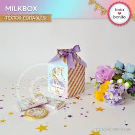 Unicornio: milkbox