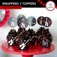 Rock: wrappers y toppers