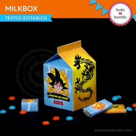 Dragon Ball: cajita milkbox