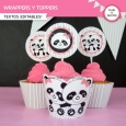 Pandita: wrappers y toppers