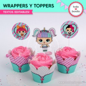 LOL: wrappers y toppers