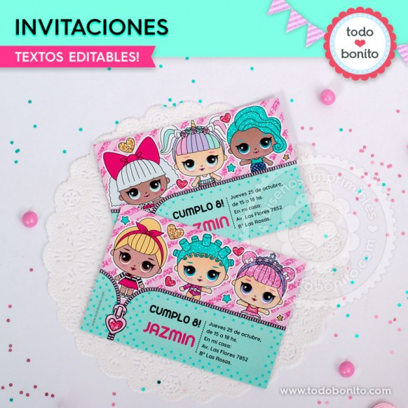 Lol Invitación Imprimible Y Digital Todo Bonito