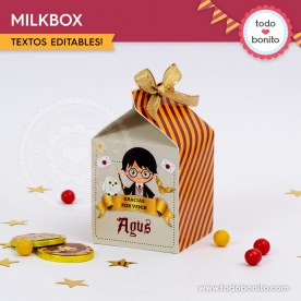 Harry Potter: cajita milkbox
