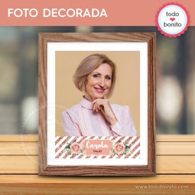 Rose Gold: foto decorada