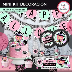 Nina Brujita: MINI KIT decoración de fiesta