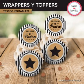 Labels: wrappers y toppers